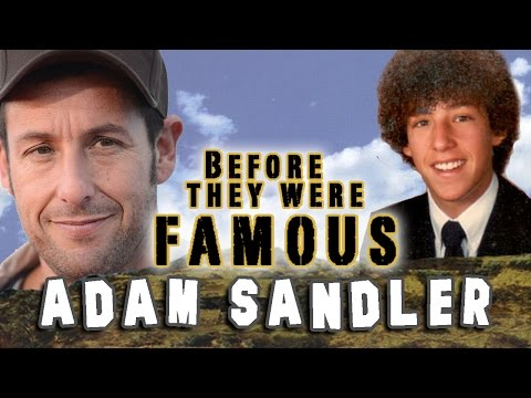 ADAM SANDLER - Before They Were Famous