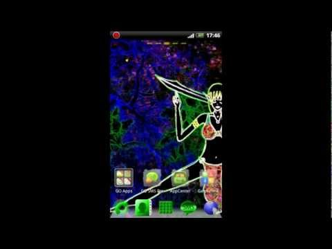 Video of Go Launcher EX Theme Dark Elf
