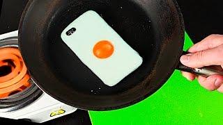 ПОЖАРИЛА ТЕЛЕФОН! DIY - ЧЕХОЛ - ЯИЧНИЦА ДЛЯ IPhone СВОИМИ РУКАМИ
