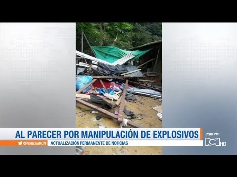 Ocho personas muertas por explosion en Dagua, Valle del Cauca