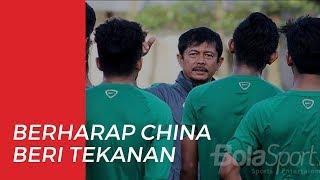 Indra Sjafri Berharap Cina Berikan Tekanan Lebih di Uji Coba Melawan Timnas U-19 Indonesia