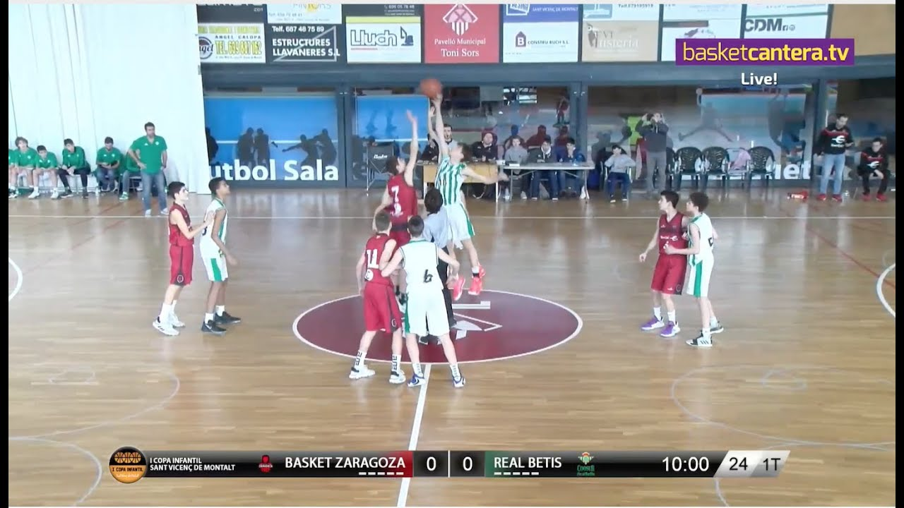 U14M - BASKET ZARAGOZA vs REAL BETIS.
