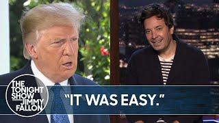 Trump Can't Stop Bragging About Cognitive Test Results | The Tonight Show