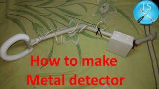 How to make mini Metal detector (DIY) - Simple metal detector