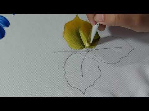Folhas - Dicas de pincéis