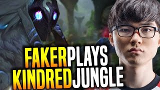 Faker Wants to Play Kindred! - SKT T1 Faker SoloQ Playing Kindred Jungle | SKT T1 Replays