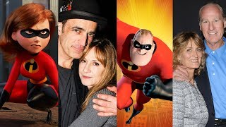 Incredibles 2 ... and their real life partners