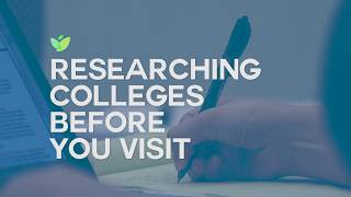 Researching Colleges Before You Visit