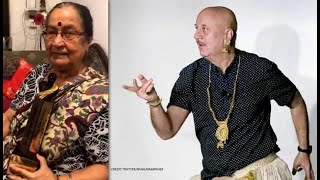 Throwbacks: Anupam Kher Wins Dadasaheb Phalke Film Festival Award, His Mom Has The Sweetest Reaction