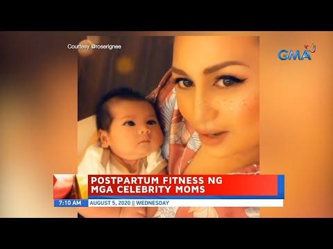 [GMA]  UB: Postpartum fitness ng mga celebrity moms