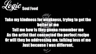 Logic   Soul Food Lyrics