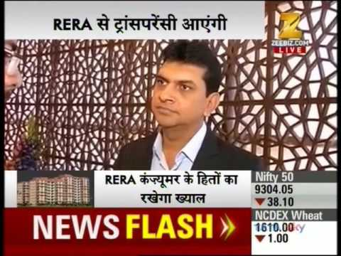 Zee Business News Live - Mr Devang Verma, Director - Omkar Realtor