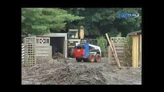 preview picture of video 'No Comment - Jahrhundertflut Sachsen 2002 - Nossen - Meißen 15.08.2002'