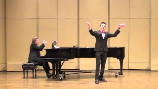 I Hold Your Hand In Mine by Tom Lehrer - My Junior Recital