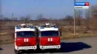 Вальс пожарных машин в Адыгее