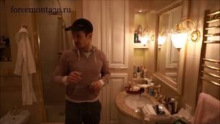 Сложный ремонт ванной комнаты Дизайн ванной А-ля БАРИН