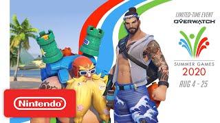 Nintendo Overwatch - Summer Games 2020 anuncio