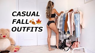 20 Casual Fall Outfits In 5 Minutes!