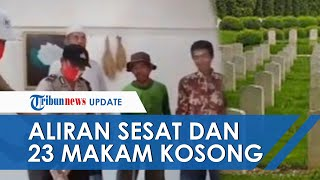 Aliran Sesat di Lampung Tengah Pakai Makam Kosong untuk Media Ritual, 23 Makam Kini Dibongkar