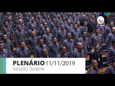 Plenário - Homenagem à Força Nacional de Segurança - 11/11/19 - 09:28