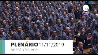 Plenário - Homenagem à Força Nacional de Segurança - 11/11/2019 09:00