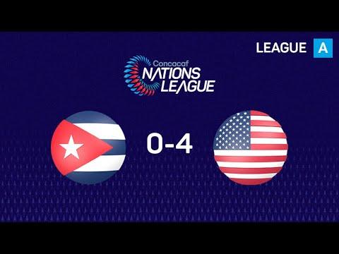 Куба - США 0:4. Видеообзор матча 20.11.2019. Видео голов и опасных моментов игры