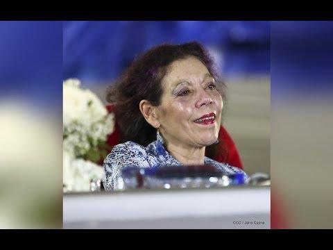 Compañera Rosario Murillo felicita al pueblo nicaragüense en estas Fiestas Patrias