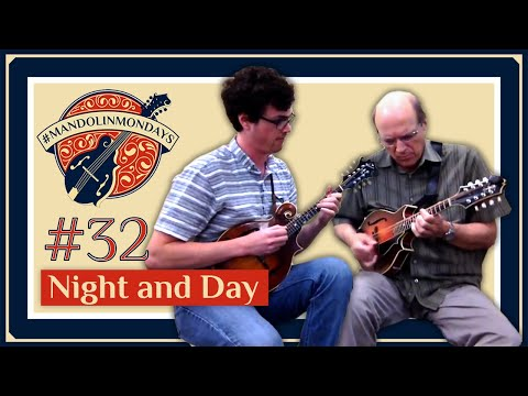 "Jazz mandolin maestro Don Steirnberg and myself playing through the jazz standard ""Night and Day"""