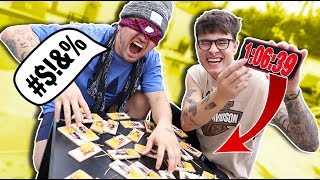 MOUSETRAP RELAY-RACE (*BLINDFOLDED*)
