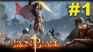 IRON BLADE GAMEPLAY (By GAMELOFT) - iOS / Android Video Trailer