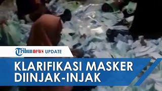 Viral Video Masker Diinjak, Pihak Solida Klarifikasi dan Tunjukkan Kondisi Pabrik Sebenarnya