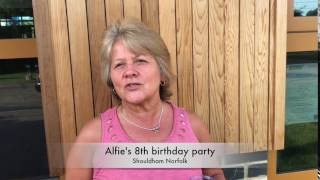 Alfie's 8th birthday party