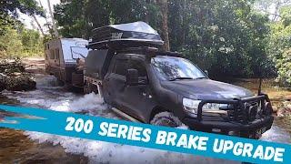 Bendix Ultimate Brake Upgrade Kit - Toyota LandCruiser 200 Series