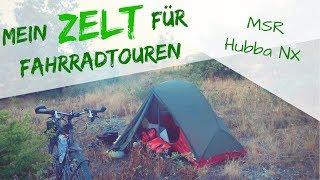 Mein ZELT für  Radreisen / Radtouren - Das MSR Hubba NX