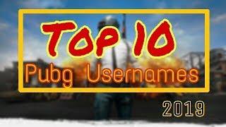 #pubgnamesideas#pubgusernames Top 10 Unique Gaming Usernames for Pubg Mobile (Part-1).