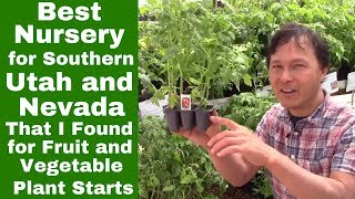 Best Nursery for Southern Utah & Nevada that I Found for Vegetable  & Fruit Plant Starts