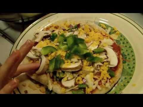 Paleo Garden Veggie Pizza Squares
