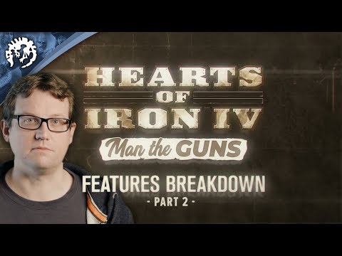 Hearts of Iron IV: Man the Guns - Features Breakdown, ep.2 thumbnail