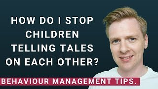 Tattling vs  Telling: Why Kids Tattle And What To Do About