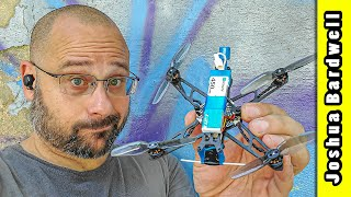 Finally, a micro quadcopter with decent range. BetaFPV HX115 LR with built in ExpressLRS receiver!
