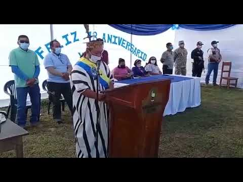 Mensaje del Alcalde de la Municipalidad Distrital de Yurúa Prof. Ronaldo Tovar Alva