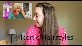 Hairstyles From Barbie Dream House Adventures!| Barbies Iconic Looks