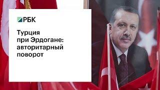 Турция при Эрдогане: авторитарный поворот