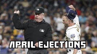 MLB | 2016 April Ejections ᴴᴰ