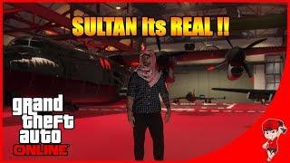 GTA V ONLINE - Sultan Beli Jet & Mobil Batman !!