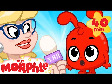 Morphle On The News! - My Magic Pet Morphle   Cartoons For Kids   Morphle TV   Mila and Morphle