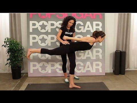 Master the Warrior 3 Pose With Jennifer Aniston's Yoga Instructor