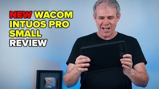 NEW WACOM intuos pro SMALL tablet REVIEW