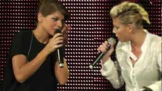 preview picture of video 'Emma e Alessandra show: flauto e citofono@Arena di Verona'