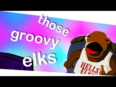 ♫ REACTION VIDEO ELK-STYLE: THOSE GROOVY ELKS - with Hans and Kevin Kurotowa™